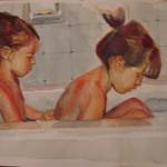 E & G in Tub