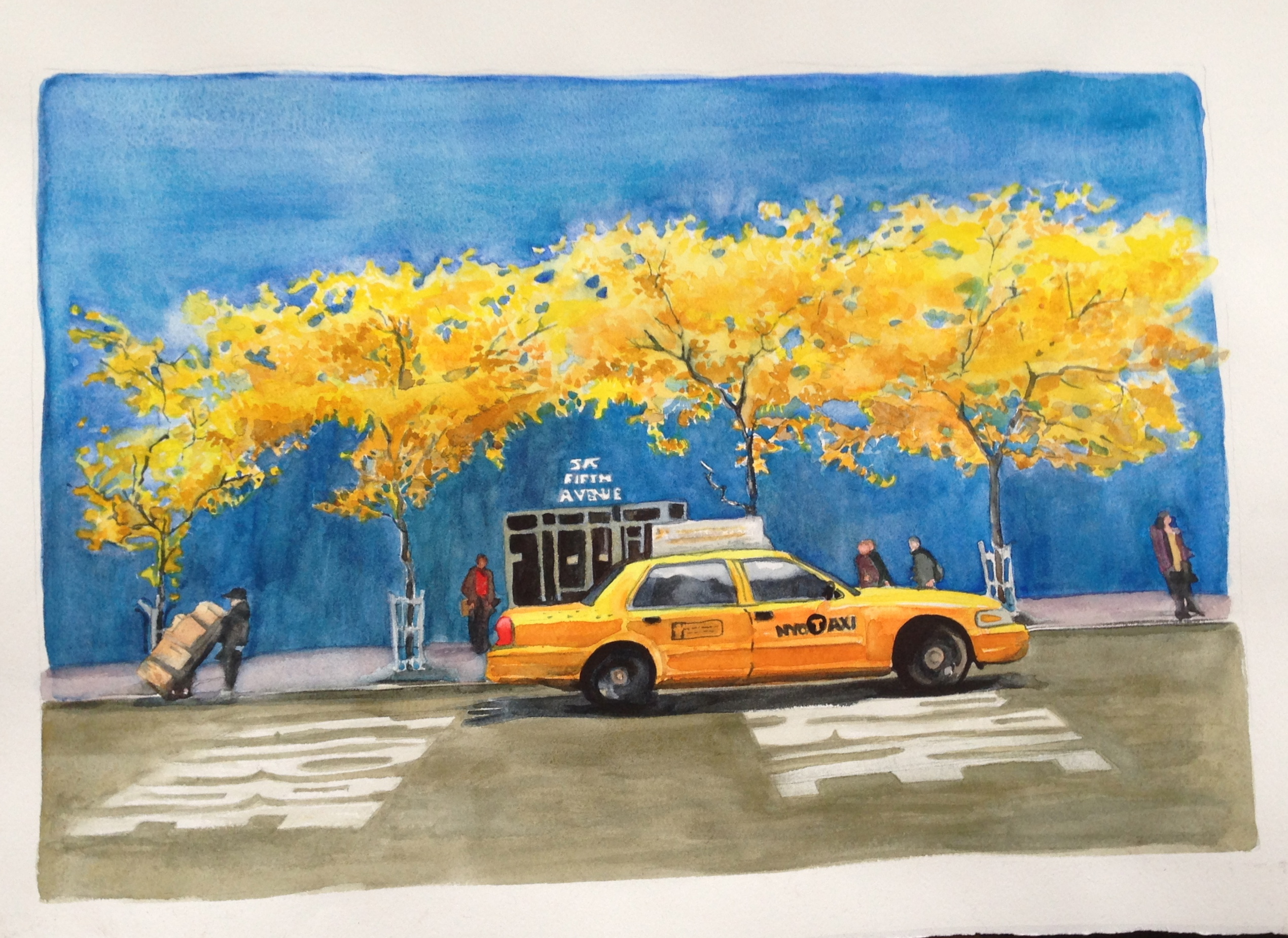 Fifth Avenue Yellow
