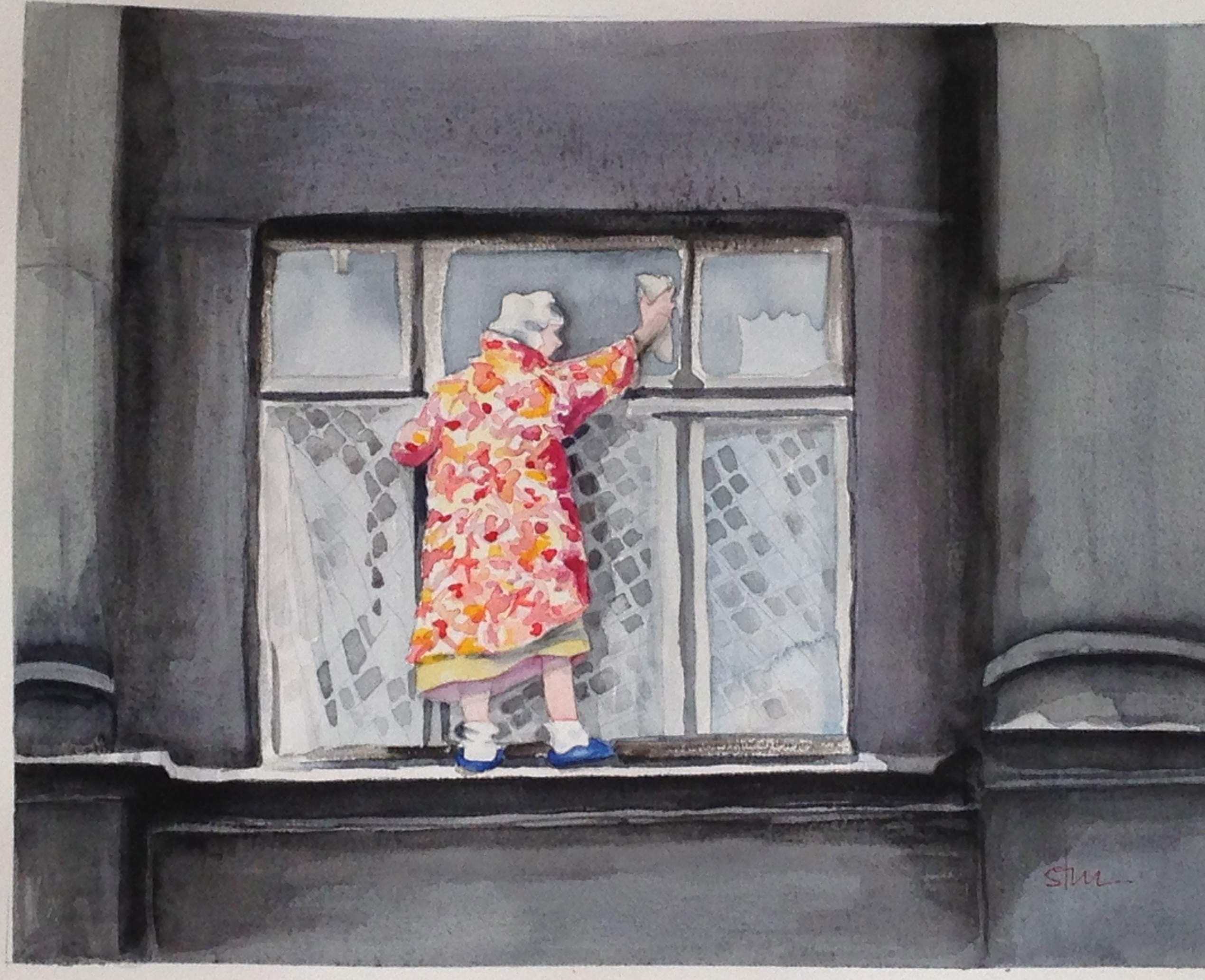 Most Daring Window Washer